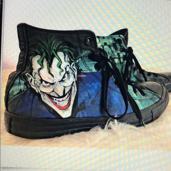 e121bf045fce Converse Other - Converse All Star DC Comics The Joker Taylor